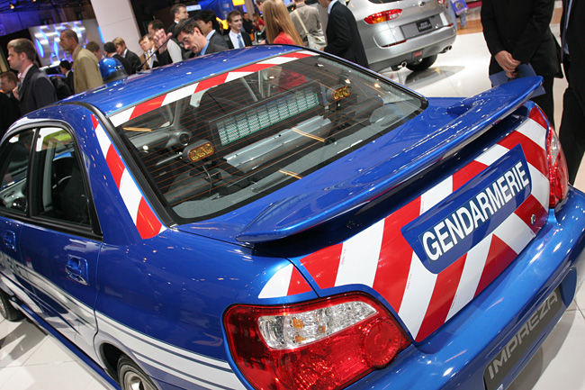 Concours D Elegance >> STi: WRX Police car, France
