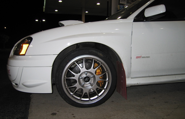 front wheel STi