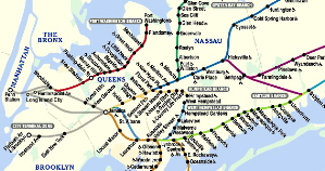 Mta Lirr Map. New Orleans Wards Map Map Of New Orleans Wards Map Of ...